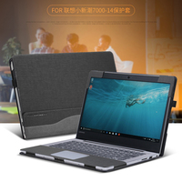 Creative Design Laptop Cover For Lenovo XiaoXin Chao 7000 14 Sleeve Case PU Leather Protective Skin