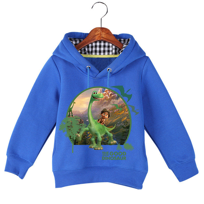 Hot Sale Baby Girl Boy Cartoon Long Sleeve The Good Dinosaur Printing Sweatshirts Baby Kids Autumn Winter Hoodie Tops GCM017 (1)