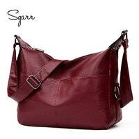 SGARR Fashion Women Crossbody Bag Luxury Handbags Women Bags Designer Small Bag Women Shoulder Bag Wine
