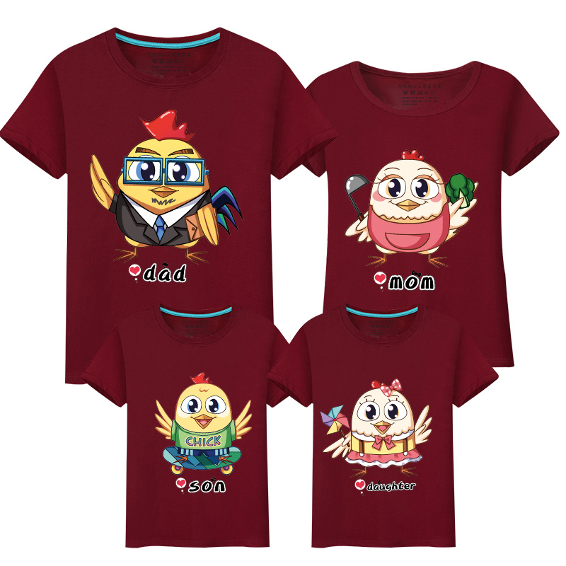 HTB1vWuJbbsTMeJjy1zcq6xAgXXa7 - Family Matching Clothes Leisure New Summer Cotton T-shirts Boy for Father Mother Son Daughter Family Matching Outfits Look