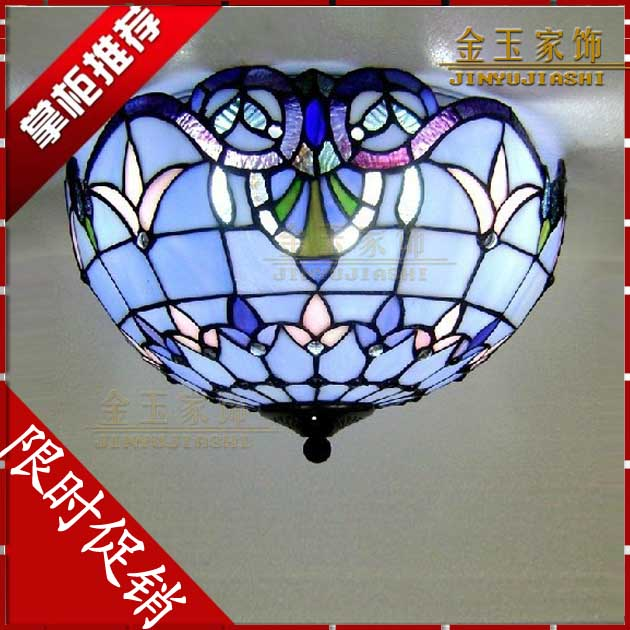 Taobao big hot blue bedroom lighting ceiling lamp European balcony study dining room lamp брелок blue sky faux taobao pc006