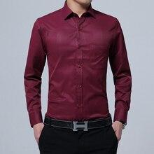 Plus Large Size 7XL 8XL 9XL Mens shirts Camisa Masculina Long Sleeve Shirt Men Slim Fit Design Formal Casual Male Dress