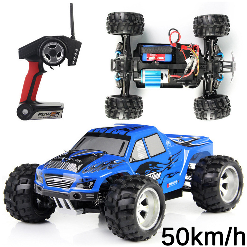 2017 2.4G 50KM/h High Speed SUV CAR Electric RC Car 4CH  Rock Crawlers Car Off-Road Vehicles Model Toy RC Autos A Control Remoto high speed rc car 20404 cross country electric suv 4wd monster truck racing car 1 20 45km h off road desert rc rock crawler rtr