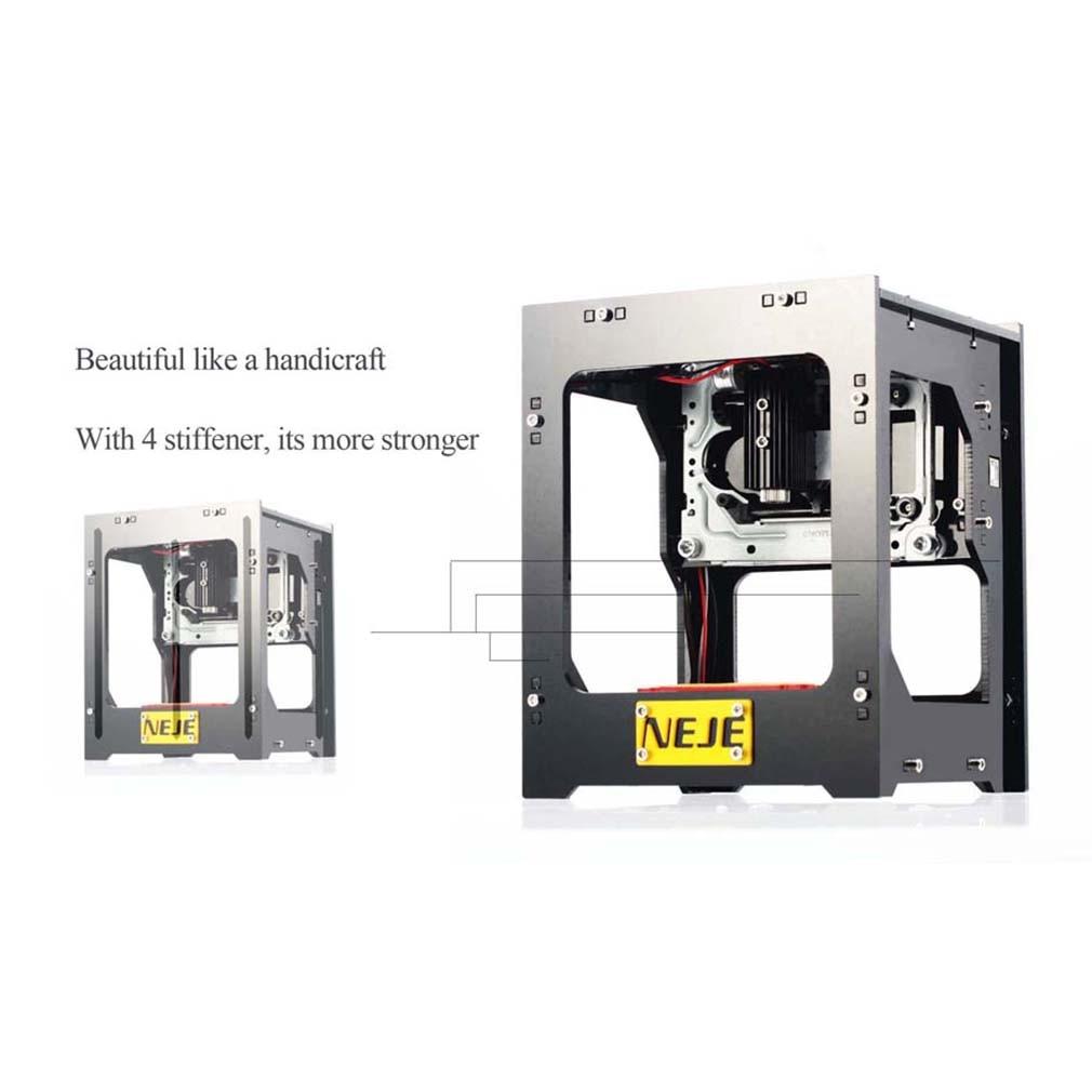 Portable NEJE DK-BL 1500mW Household DIY Picture Printing USB Bluetooth Mini Laser Engraver Machine цена