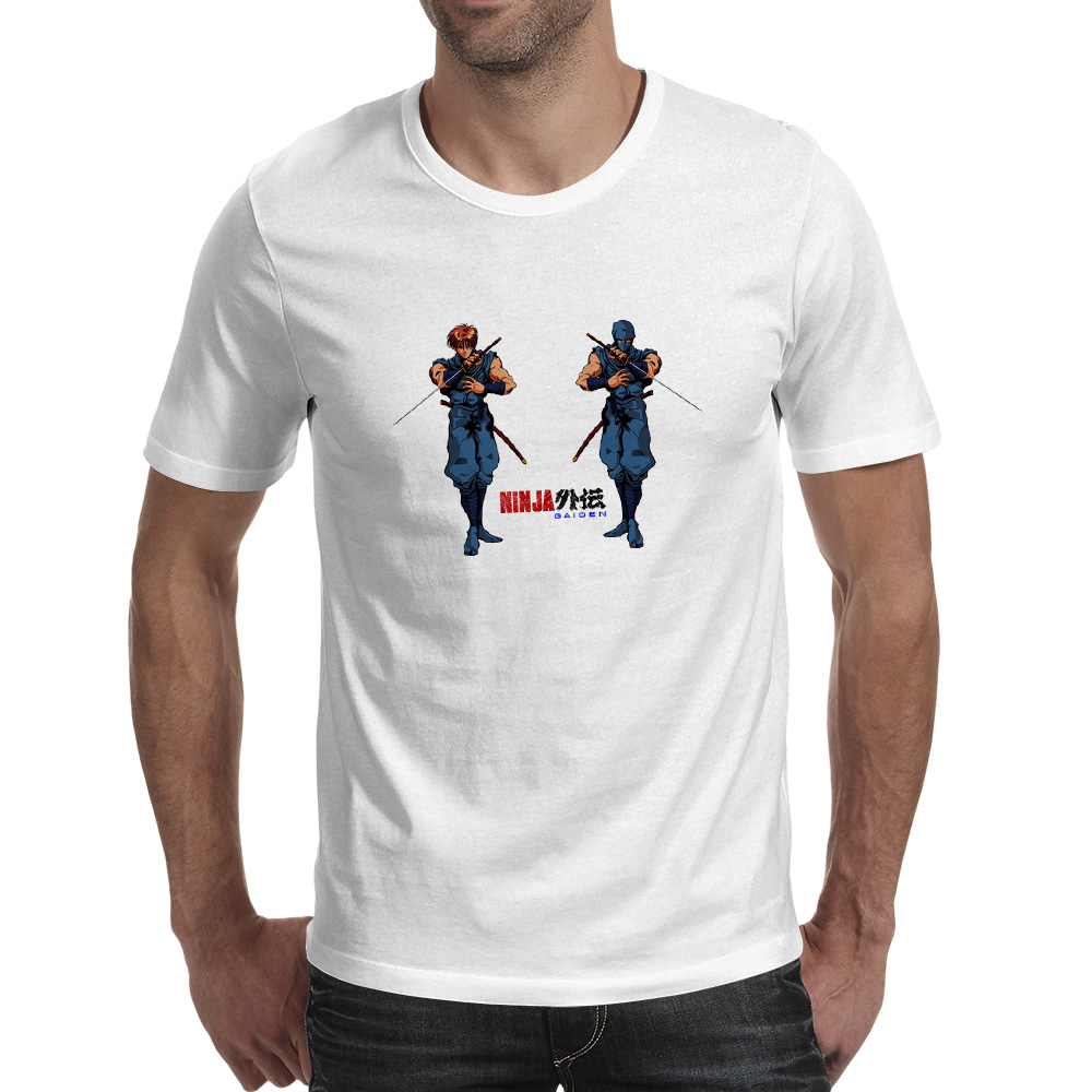 Ninja From FC Game T shirt 80s 70s Cool Skate Design T Shirt Rock Hip Hop Casual Women Men Top in T Shirts from Men 39 s Clothing