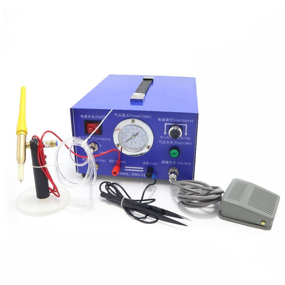 DX 50A 220V haute puissance Argon Protection impulsion soudeuse par points Laser soudeuse par points Double transformateur