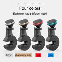 Lantro JS Magnetische Telefon Halter Zurück Sitz 360 Grad Rotation Telefon Auto Halter für Kind Spaß Video Uhr und Lernen