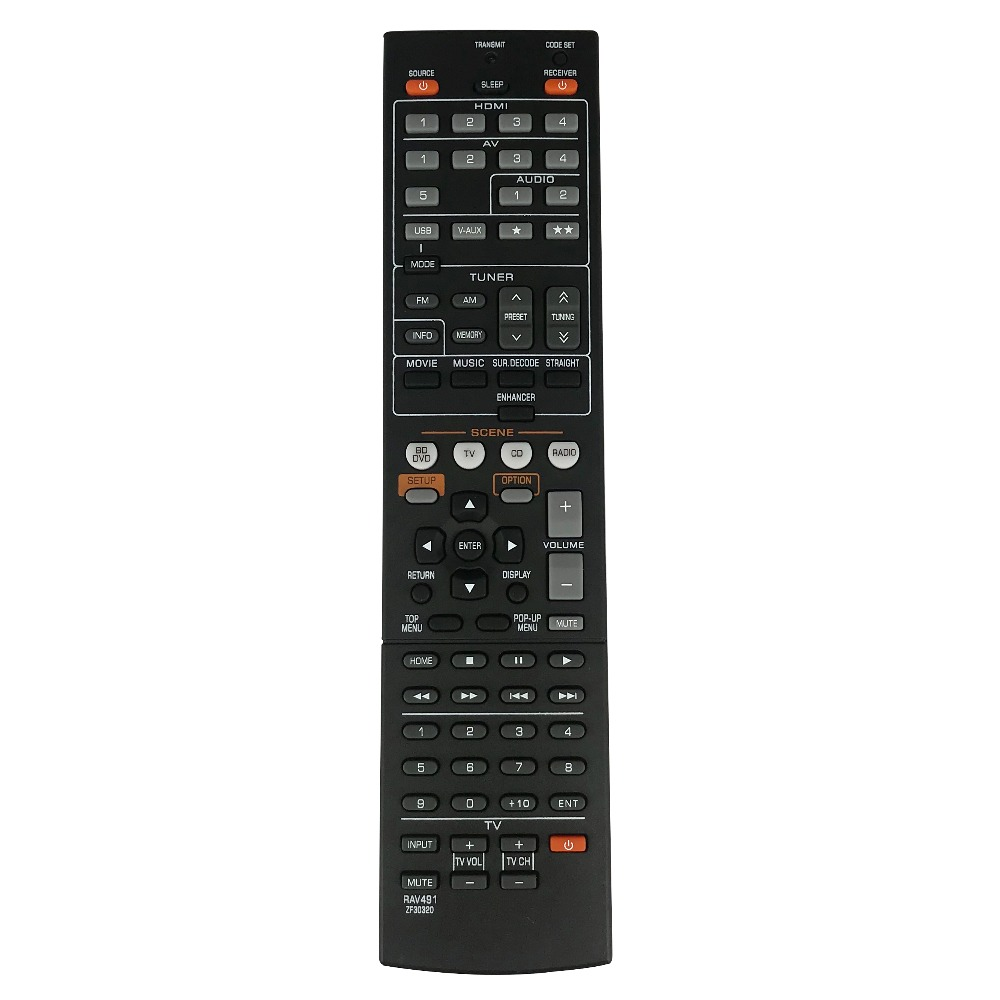 New Replacement Remote Control For Yamaha Rav491 Zf30320