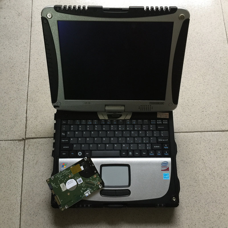 Mb star outil de diagnostic pour mb star c4 multiplexeur avec 5 câbles 320gb hdd plus récent v2019.09 avec ordinateur portable cf19 table écran tactile - 5