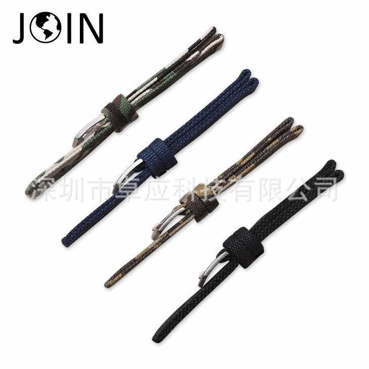חיצוני ספורט הסוואה בד רצועת עבור apple רולקס קרטייה dw להקת שעון חכם צמיד גברים של/נשים של רצועה