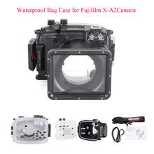 Meikon 40m/130ft Underwater Diving Camera Housing Case for Fujifilm X-A2 Camera,Waterproof Bag Case for Fujifilm X-A2