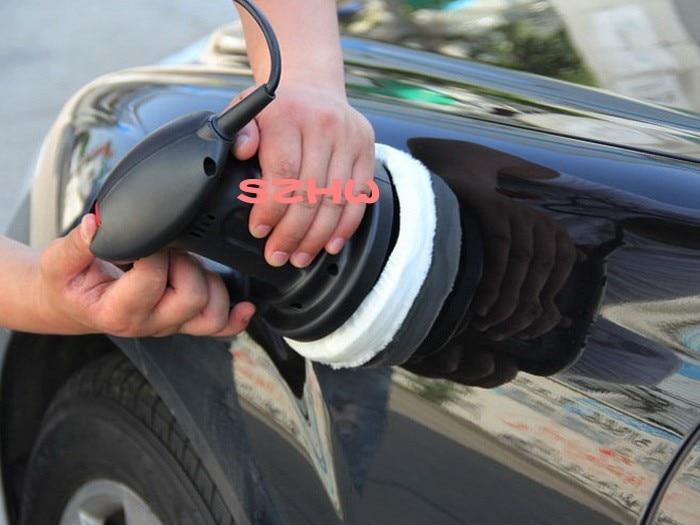 HKnoble инструменты для ухода за машиной AC 220 V 6 дюймов Автомобильный Электрический полировщик NE-326B, эльф автомобильный воск полировальная машина, 1 шт., быстрая