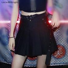 Крутой нарядный пояс для девочки плиссированная трапециевидная панк-юбка
