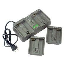 DSTE двойное зарядное устройство для батареи EN-EL18