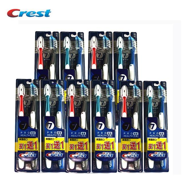Crest Seven Effect Toothbrush Buy 1 Get 1 Crest America Imported Genuine Special Tooth Brushes 20 pcs=10 packs