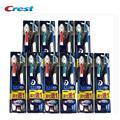 Sete Efeito Buy 1 Get 1 Crista escova de Dentes Crest América Importados Genuínos Especiais Escovas de Dente 20 pcs = 10 pacotes