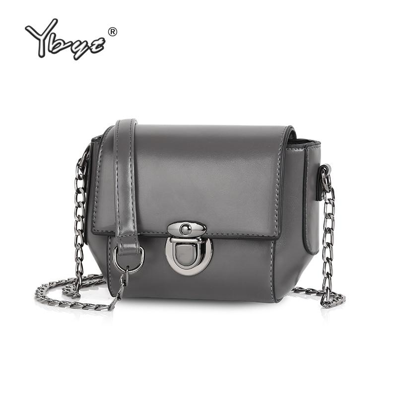 YBYT marca 2017 nuevas mujeres de la vendimia ocasional de cuero de LA PU pequeños paquetes femeninos bolso de compras de las señoras del hombro mensajero crossbody bolsas