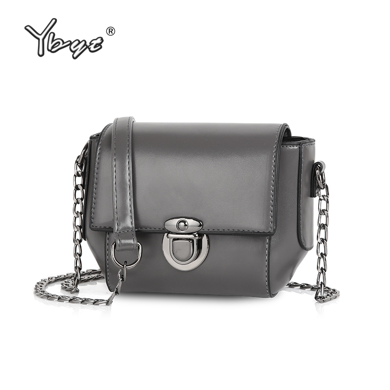 YBYT Brand 2019 New Women Vintage Casual PU Leather Small Packages Female Shopping Bag Ladies Shoulder Messenger Crossbody Bags