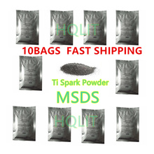 cold spark fireworks Ti Powder  200g/bag For Cold Spark Firework sparctic stage fountain pyro wedding dj disco