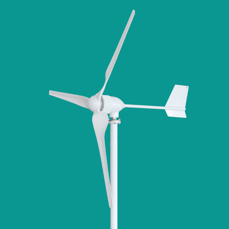 1000W Wind Turbine Generator 24V 48V 1kw horizontal wind turbine 3/5 blades start up 2.5m/s 1kw horizontal wind turbine generator 3 5 blades start up 2m s 24v 48v optional wind generator ce approval