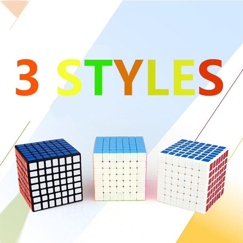 3 Style 7x7x7 Cubes magiques jeu de course Cube enfants Puzzle jouets compétition formation Cubes magiques pour enfants adultes cadeau - 3