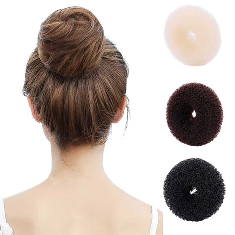 1PC one Size New Fashion Women Lady Magic Shaper Donut Hair Ring Bun Accessories Styling Tool Hair Accessories drop shipping