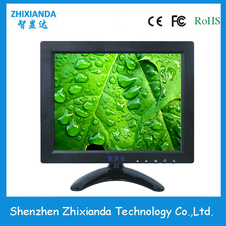 Shenzhen 9.7 inch industrial lcd monitor with 12v dc input for cctv moon angel drop earrings