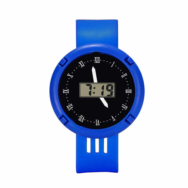 Children Girls Analog Digital Sport LED Electronic Waterproof Wrist Watch New Child's Gift Casual Watch Clock