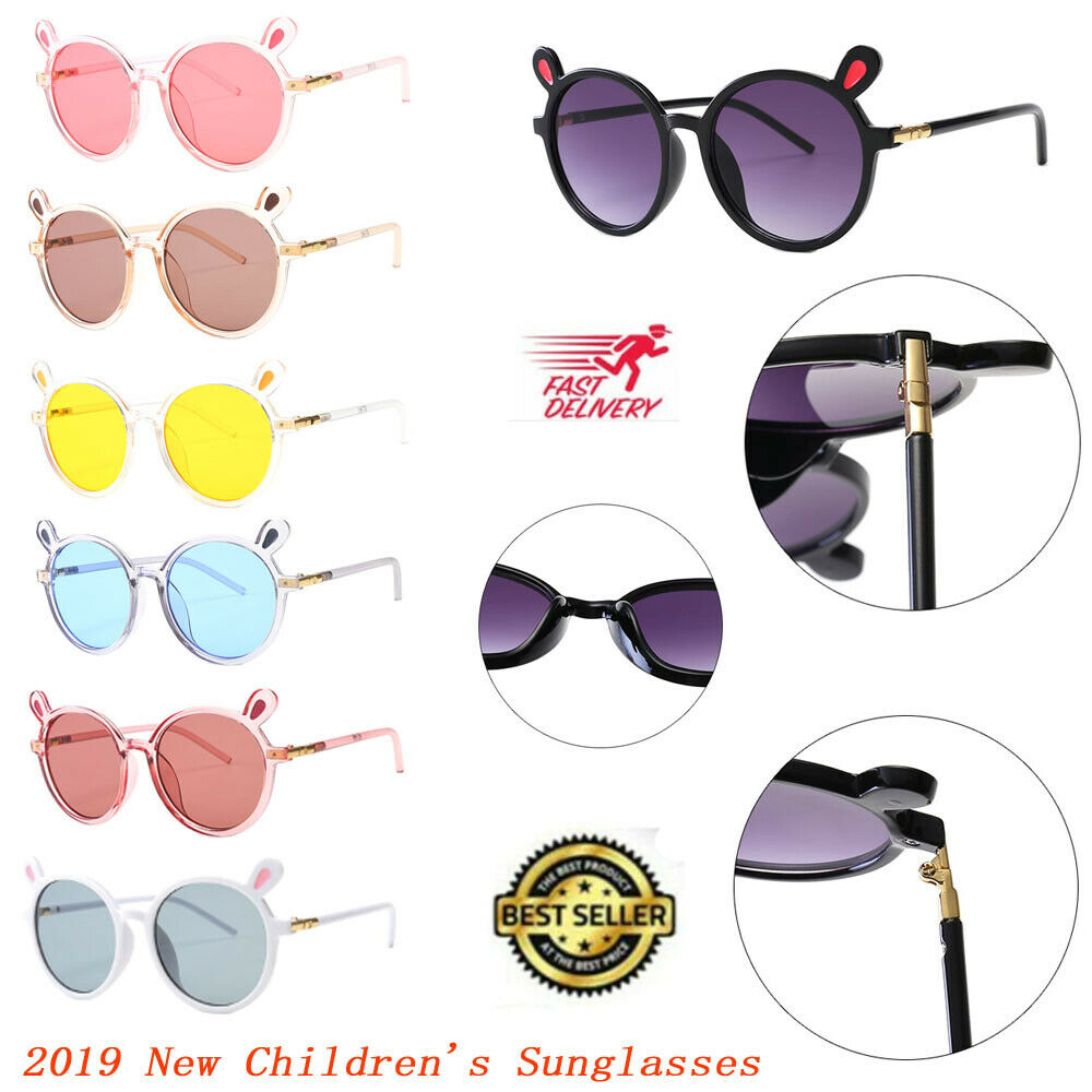 Fashion Boys & Girls Sunglasses Goggles Kids Baby Frame Children Outdoor Glasses 7 Colors