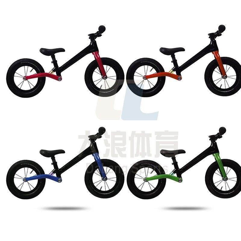 Contador ultraléger sans pédale BMX carbone Balance vélo marcheur pour 2 ~ 6 ans enfants cadre en carbone résistant aux chocs enfants vélo