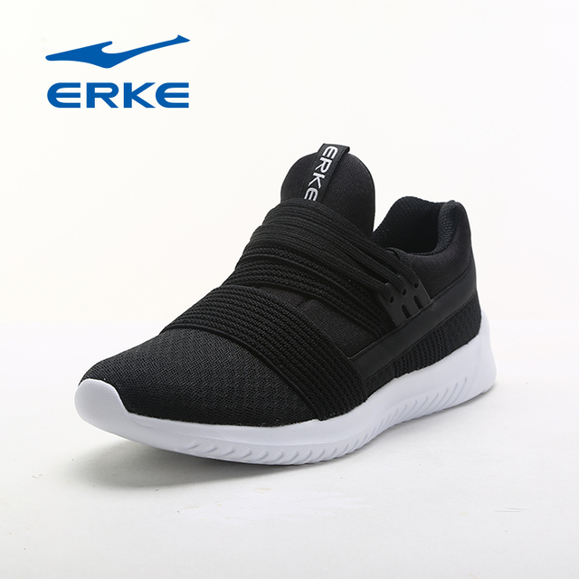 Ерке Горячие легкоатлетические кроссовки для Laides городской прогулочная обувь 2017 дышащая скольжения на спортивный кроссовки бренда квалифицированные обувь