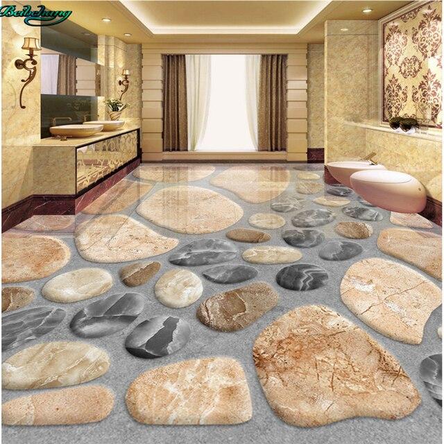 Beibehang gran personalizado 3D suelo tridimensional adoquines salón ...