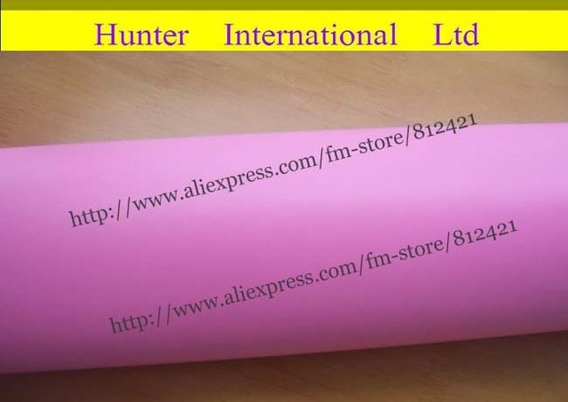 1.52*30m matte pink  Car Wrap Film with air drain good quality free shipping