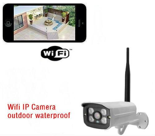 ФОТО P2P HD 720P Waterproof WIFI Wireless IP Camera Outdoor CCTV Home Surveillance Network Camera Onvif 4 IR Night Vision ONVIF H.264