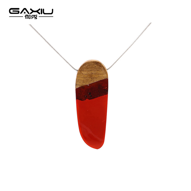 Transparent Red Resin Necklace Classical Handmade Pendant Of Women Creative Mens Accessaries Jewelry Gift To Friends Birthday