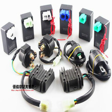 motorcycle scooter GY6 125cc CG 125 110cc igniter ignition coil starter relay rectifier 12V flasher free shipping