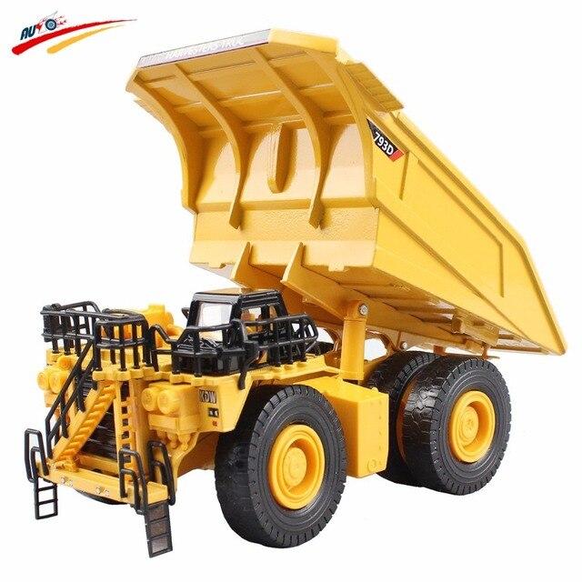 Масштаб 1: 75 Металла Карьерный Самосвал Литья Под Давлением Модель Строительство Игрушки