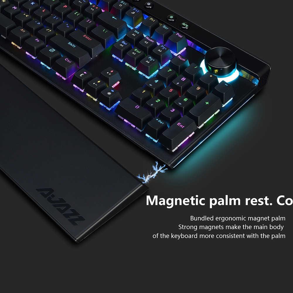 Ajazz AK45 111 Phím USB3.0 Có Dây RGB đèn nền Bàn Phím Cơ Khí Hộp Ergonomic Chơi Game Bàn Phím cho lol dota 2 cs đi máy tính