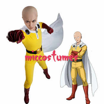 Anime One Punch Man Saitama Cosplay Costume Unisex Clothing - DISCOUNT ITEM  0% OFF All Category