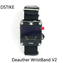 DSTIKE WiFi Deauther Smart Wristband ESP8266 OLED Watch Men Battery Cha