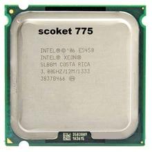 E5450 Prozessor INTEL XEON E5450 SLBBM SLANQ CPU (3,0 GHz/12 MB/1333 MHz/Quad Core) in der nähe LGA775 Q9650 arbeit auf 775 motherboard