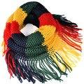 Женские 2016 зимние шарфы теплый магия вязать шарф Трубки несколько цветов и обычаи loop бесконечность шарф, NL-1930