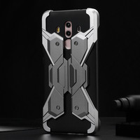 For Coque Huawei Mate 10 Pro Case Luxury Screw Assembled Al Alloy Metal Bumper For Huawei