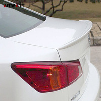Spoiler For Lexus IS250 IS300 IS350 2007 2008 2009 2010 2011 2012 2013 ABS Plastic Unpainted Primer Color Rear Wing Spoiler