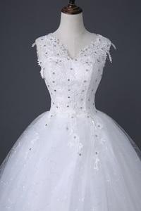 Image 4 - Desinger Simple Lace Wedding Dresses Custom made Cheap Bridal Gowns Vestido De Noiva Vintage Under 100