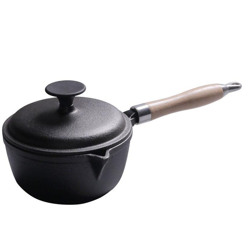 Cast Iron Milk Baby Food Soup Pot 1