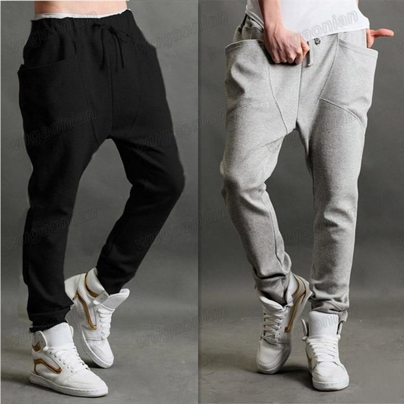 Fashion Menu0026#39;s Casual Sports Dance Trousers Baggy Jogging Harem Pants MLXLXXL Free Shipping ...