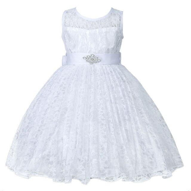 Sommer Mädchen Kleid kinder Partei Prinzessin Baby Kinder Mädchen ...