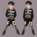 kids hip hop clothing  Long Sleeve Camouflage Athletic Wear Camo Twinset 2016 Spring And Autumn Children's Garment Suit