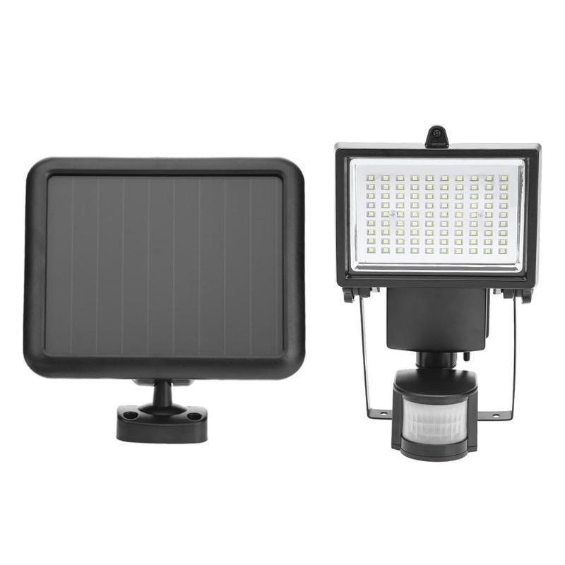 90 LED Solar Power PIR Motion Sensor Wall Light 3 Interrupteur IP44 Rue Économie D'énergie de Jardin Chemin Jardin de Sécurité lampe